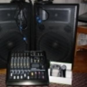 комплект апаратури для дискотеки