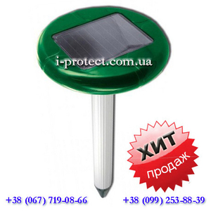 Купить универсальный отпугиватель на солнечной батарее «ВК-0677»