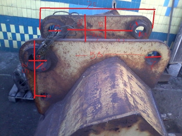 Ковш 1 м3. на экскаватор эо-4121,  4124. 3