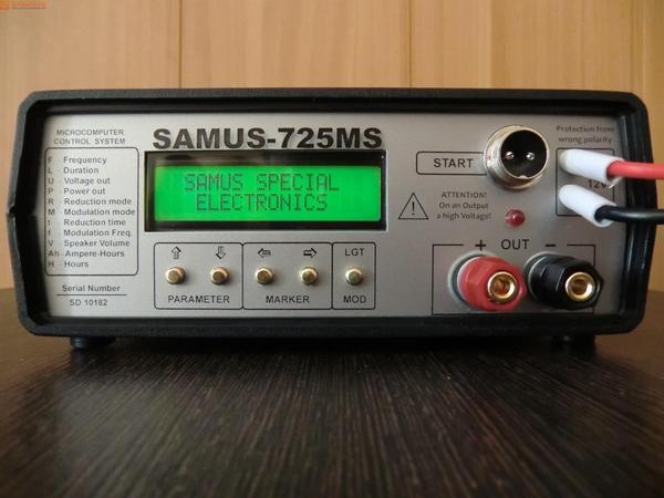Приборы для ловли рыбы: samus 1000,  samus 725 mp,  samus 725 ms,  RICH-1000 3