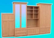 Изготовим корпусную мебель под заказ,  фасады из МДФ профиля